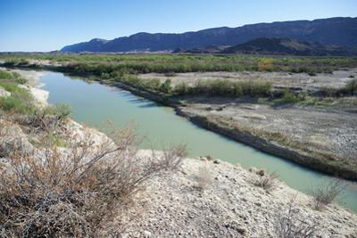 The Rio Grande River at Big Bend by Cameron Davidson