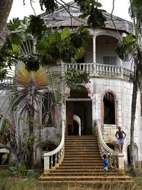 Derelict Hospital, Sao Tomé by Camilla Watson