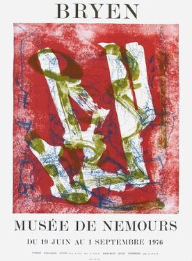 Expo 76 - Musée de Nemours by Camille Bryen