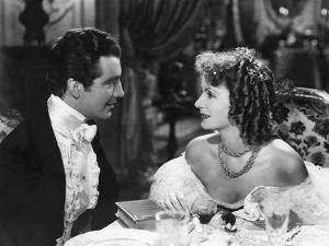 Camille by George Cukor, based on a novel by Alexandre Dumas son, with Robert Taylor, Greta Garbo,