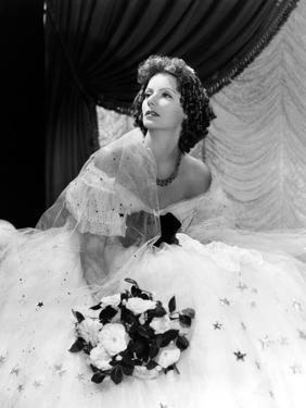 Camille, Greta Garbo, in a Gown by Adrian, 1936