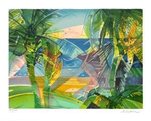 Les Palmiers by Camille Hilaire