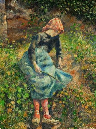 Camille Pissarro / La bergère, 1881 by Camille Pissarro