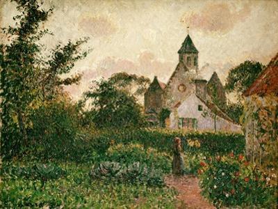 Camille Pissarro / The Church in Knocke, 1894 by Camille Pissarro