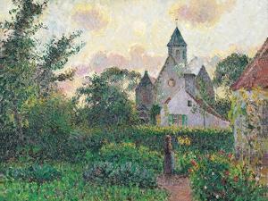 Church of Knocke by Camille Pissarro