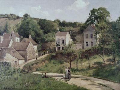 Country Road by Camille Pissarro