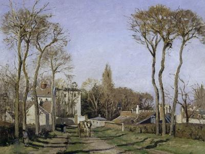 Entrance to the Village of Voisins, c.1872