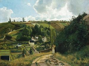 Jalais Hill at Pontoise, 1867 by Camille Pissarro