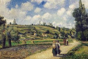 Landscape, 1881 by Camille Pissarro