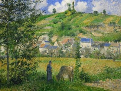 Landscape at Chaponville, 1880
