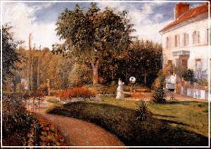 Le Jardin des Mathurins by Camille Pissarro