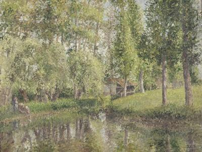 Le lavoir de Bazincourt (Eure)