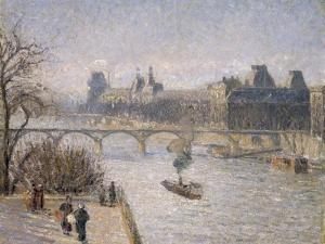 Le Louvre, 1901 by Camille Pissarro