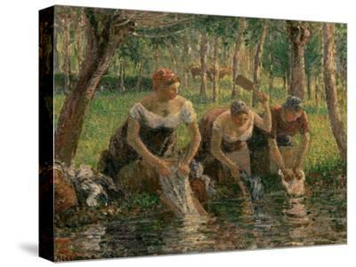 Les Lavandieres, the Washerwomen, 1895