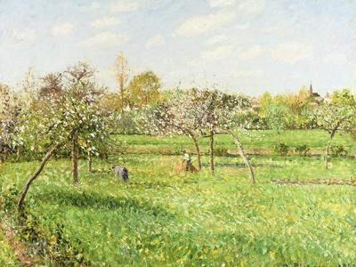Morning, Spring, Grey Weather, Eragny