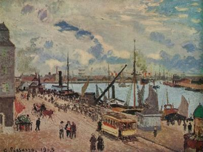 'Outer Harbour of Le Havre', 1903 by Camille Pissarro