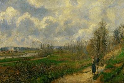 Pathway at Lechou, 1878
