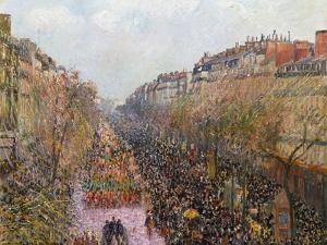 Pissarro: Mardi Gras, 1897 by Camille Pissarro