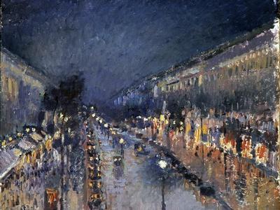 Pissarro: Paris at Night