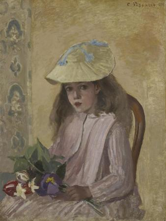 Portrait of the Artist's Daughter, 1872 by Camille Pissarro