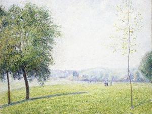 Primrose Hill, Regent's Park, 1892 by Camille Pissarro