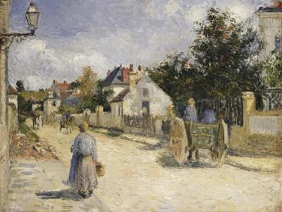 Road in Pontoise, 1879 by Camille Pissarro
