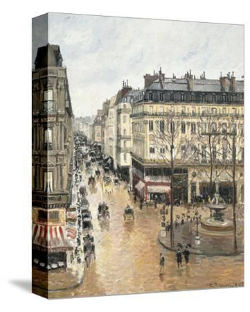 Rue Saint-Honoré in the Afternoon. Effect of Rain, 1897 by Camille Pissarro