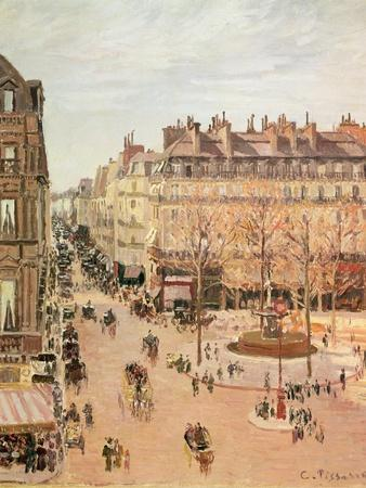Rue Saint-Honore, Sun Effect, Afternoon, 1898