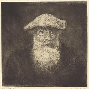 Self-Portrait, C.1890 by Camille Pissarro