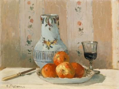 Still Life with Apples and Pitcher I by Camille Pissarro