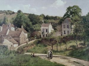 The Hermitage at Pontoise, C.1867 by Camille Pissarro