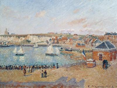 The Outer Harbour at Dieppe, 1902 by Camille Pissarro
