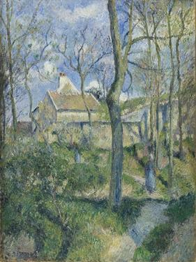 The Path to Les Pouilleux, Pontoise, 1881 by Camille Pissarro
