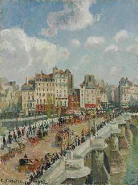 The Pont-Neuf, 1902 by Camille Pissarro