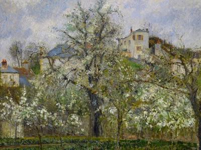 Trees and Flowers, Spring at Pontoise, 1877