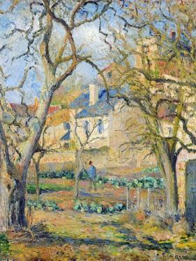 Vegetable Garden, 1878 by Camille Pissarro