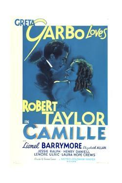 Camille, Robert Taylor, Greta Garbo, 1936