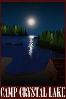 Camp Crystal Lake Retro Travel
