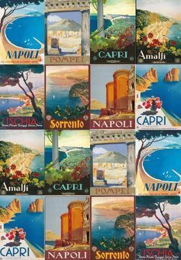 Campania- Vintage Italian Travel Poster