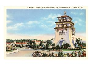 Campanile, Agua Caliente, Tijuana, Mexico