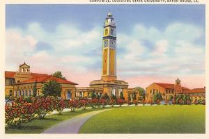 Campanile, LSU, Baton Rouge