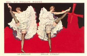 Can-Can Girls at Moulin Rouge