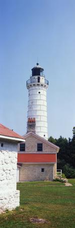 Cana Island Lighthouse, Baileys Harbor, Lake Michigan, Door County, Wisconsin, USA