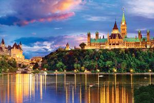 Canada- Ottawa At Twilight