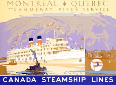 Canada Steamship Lines, Montreal-Quebec
