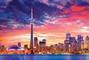 Canada- Toronto At Twilight