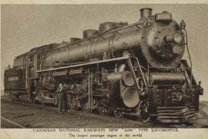 Canadian National Railways New 6000 Type Locomotive