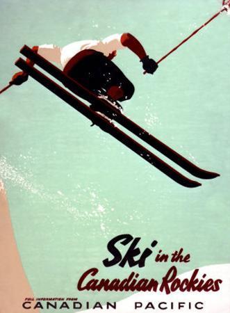 Canadian Pacific Snow Ski Rockies