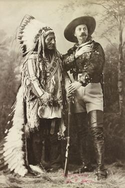 Sitting Bull and Buffalo Bill, 1885 by Canadian Photographer