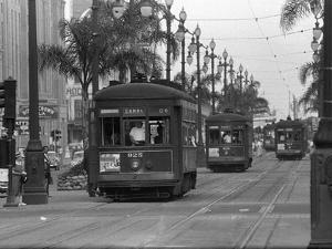 Canal Street Trolleys